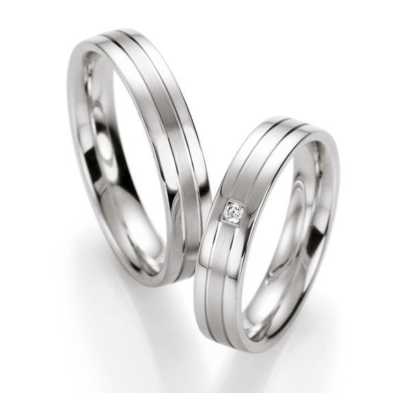 Ruesch Silberringe Verlobungsringe 10130 10140