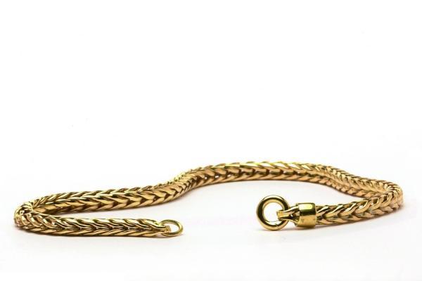 massives Gold 585/000 Armband 18 cm