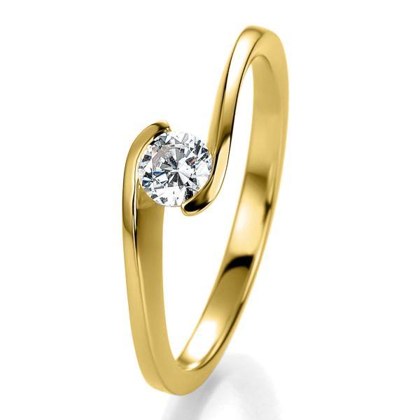 Breuning Bridal Antragsring Gelbgold 41/05311