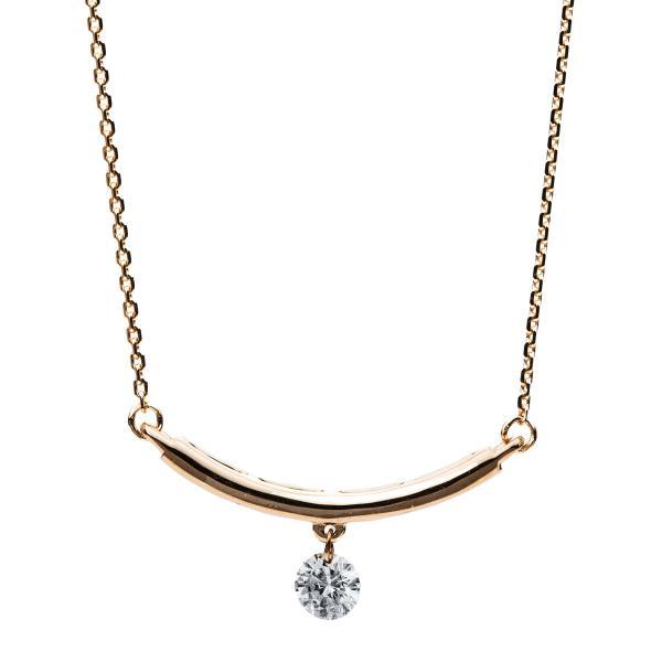 DiamondGroup Diamantcollier Collier 14 kt Rotgold - 4B203R4-1