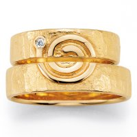 Signs of Love Spirale Gelbgold 66/51110