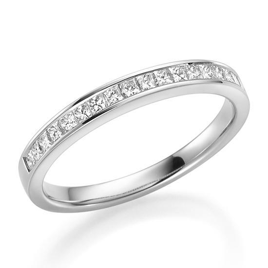 Rubin 1647 Memoire Ring Platin 950