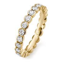 Memoire-Ring Gelbgold 585 Brillant Gerstner 29764/3.1