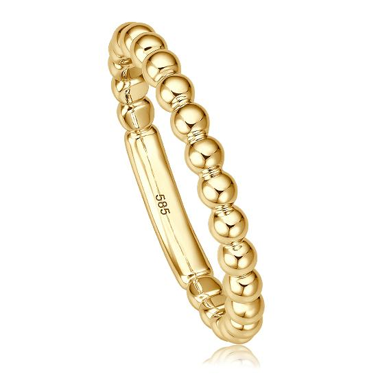 bella luce Kugelring Bella V Gelbgold 585 Kügelchen Ring