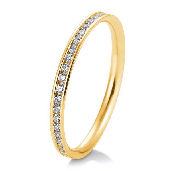 Breuning Memoire-Ring Gelbgold 4105644