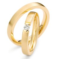 Trauringe Gelbgold Brillant TS70033