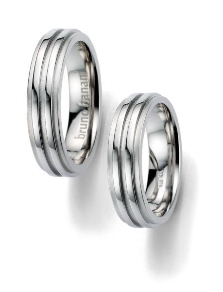 Bruno Banani Silber Ringe 44.86001 42.86001