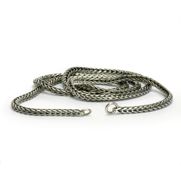 Sterling Silber Halskette 80 cm