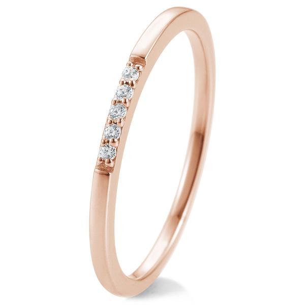 Breuning Memory Ring Rotgold 585 Brillant 41/88018