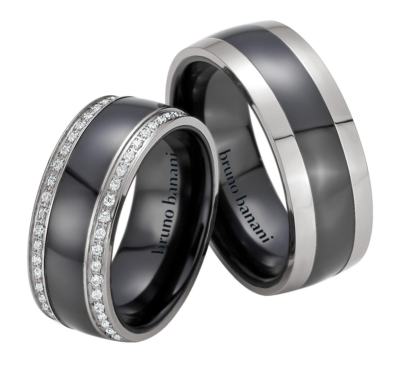 Bruno Banani Ceramic Ringe 44.84176 42.84176