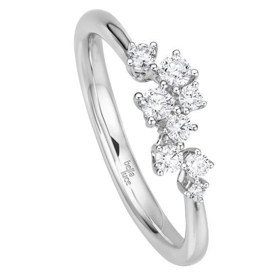 bella luce Brillant Ring Giulia Weißgold
