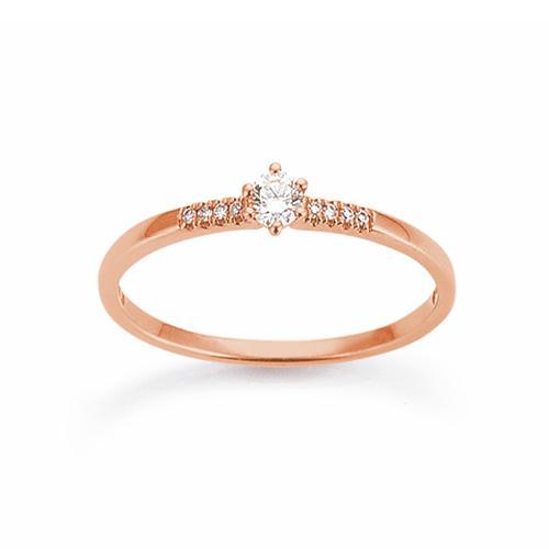 Palido First Love Ring Rotgold 585 Brillant K11658R