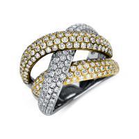 Ring 18 kt Weißgold & Gelbgold & Rotgold - 1U092T854-1