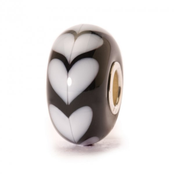 Trollbeads Weißes Herz TGLBE-10251, 61382