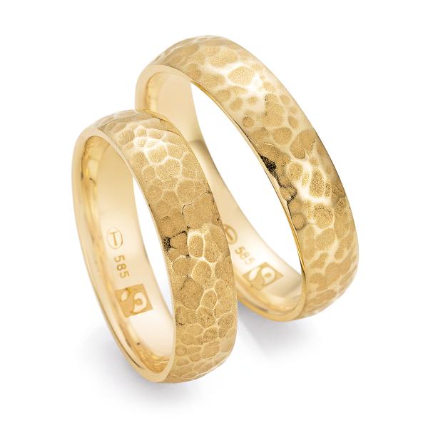 Ruesch Trauringe Gelbgold 585 Fairtrade 33/30360 & 33/30360