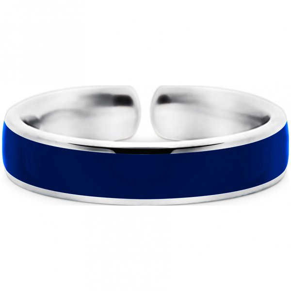 Quinn Einzelring dunkelblau, True-Blue